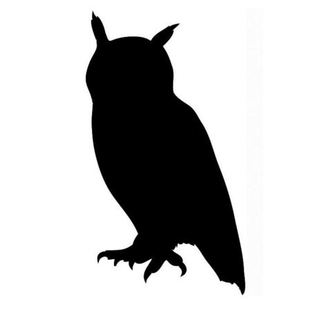 Pack of 3 Owl Stencils Made from 4 Ply Mat Board 11x14, 8x10, 5x7](Owl Halloween Stencil)