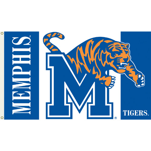 Bsi Products Inc Memphis Tigers Flag with Grommets Flag with Grommets