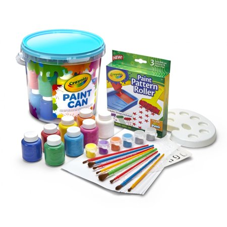 Crayola All-In-One Creative Paint Can, Blue Great Gift For Kids](Sky Blue Crayola)