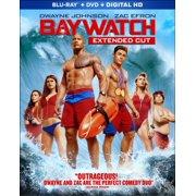 Baywatch (2017) (Walmart Exclusive) (Extended Cut) (Blu-ray+ DVD + Digital HD) by