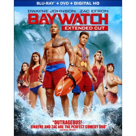Baywatch (2017) (Walmart Exclusive) (Extended Cut) (Blu-ray+ DVD + Digital HD) (VUDU Instawatch Included) (VUDU Instawatch Included)