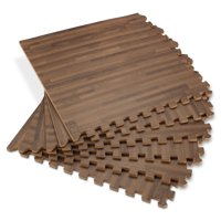 Product Image Forest Floor 5 8 Thick Printed Wood Grain Interlocking Foam Mats 16