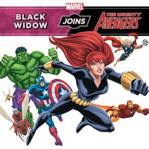 Black Widow Joins the Mighty Avengers - - Black Widow Avengers Wig