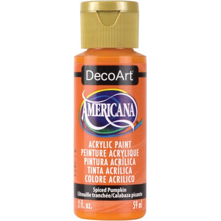 Paint A Pumpkin Kit (Americana Acrylic Paint 2oz-Spiced Pumpkin -)
