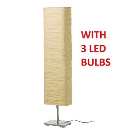 Ikea Magnarp Floor Lamp With Led Light Bulbs Walmart Com