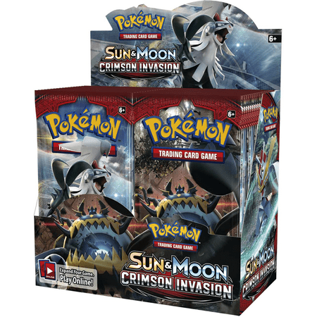 Pokemon Sun & Moon 4 Invasion Booster Box Trading Cards
