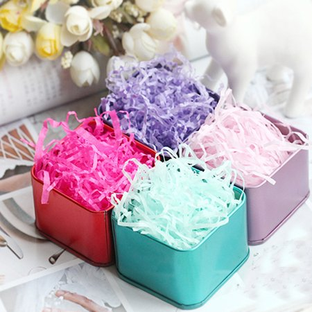 100g 3.5oz Christmas Party Gift Soap Basket Shred Shredded Tissue Paper Grass Filler](Tissue Shred)