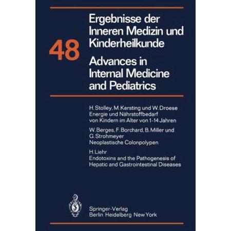 Ergebnisse Der Inneren Medizin Und Kinderheilkunde Advances In Internal Medicine And Pediatrics  Neue Folge