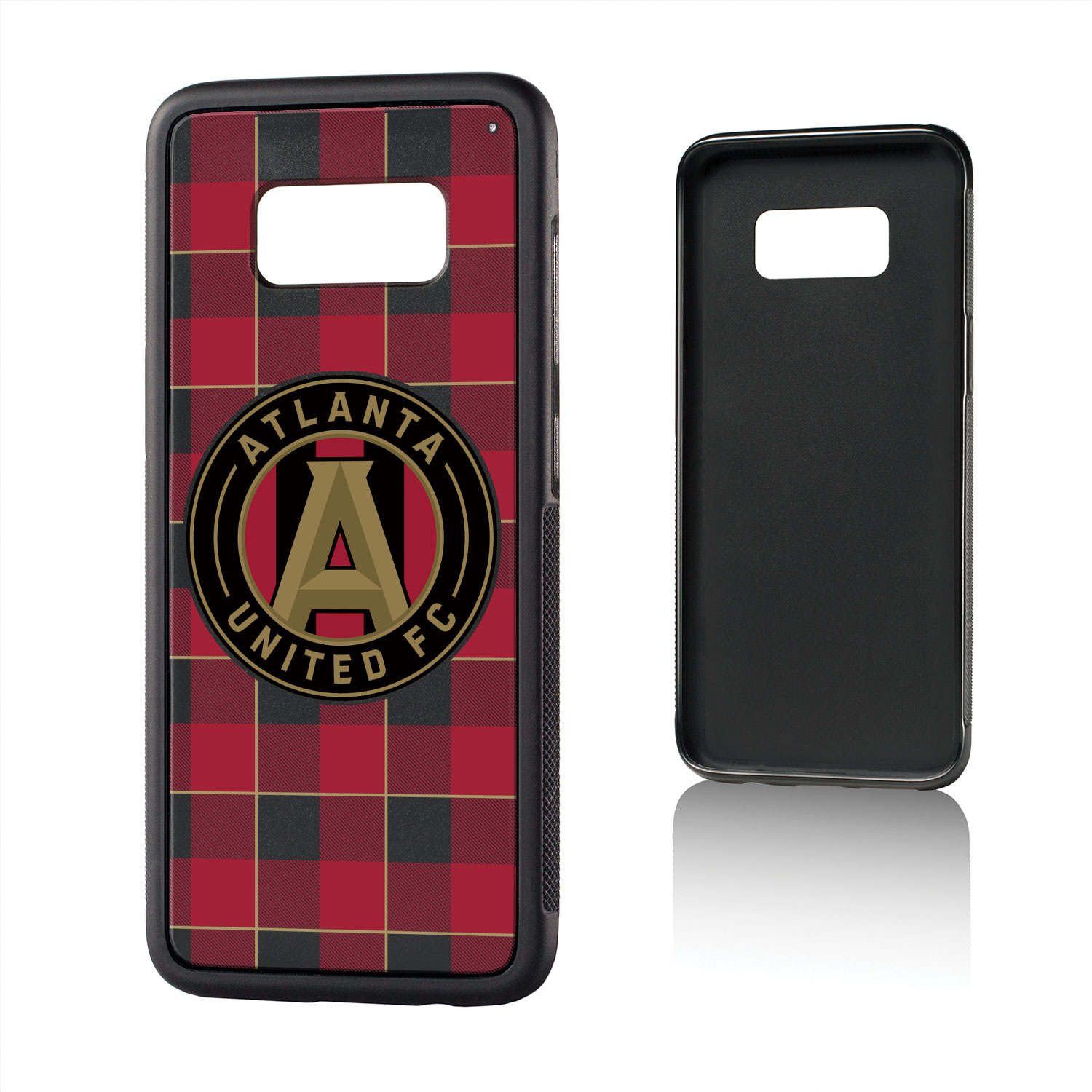 Atlanta United FC ATLUTD Plaid Bump Case for Galaxy S8