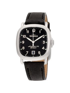 Shinola The Guardian Quartz Movement Black Dial Ladies Watch S0120161935