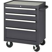 Edsal 5-Drawer Rolling Tool Cabinet, Black