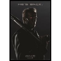 TERMINATOR GENISYS Hes Back Poster Poster Print