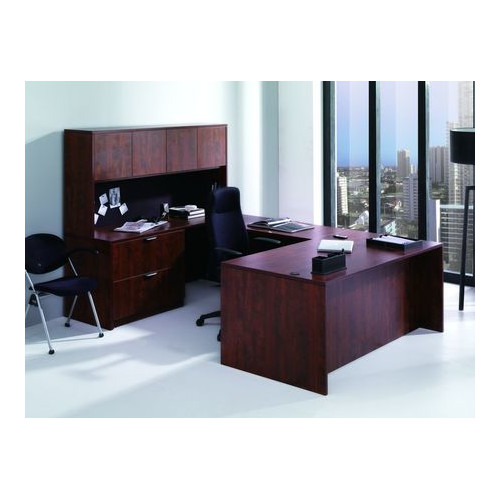 Conklin Office Furniture U-Shape Office Suite