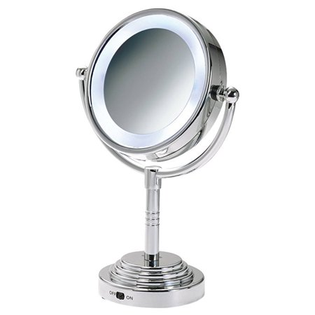 Rucci Led Lighted Mirror 5x Magnification, 2 Ounce ()