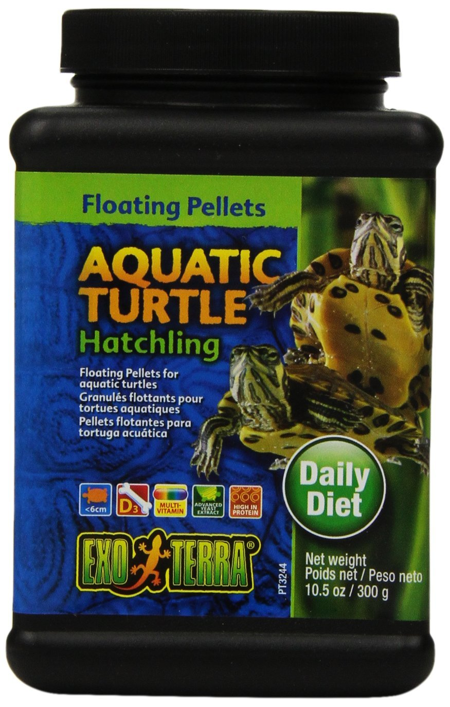 Exo Terra Hatchling Aquatic Turtle Food, 10.5-Ounce by Exo Terra