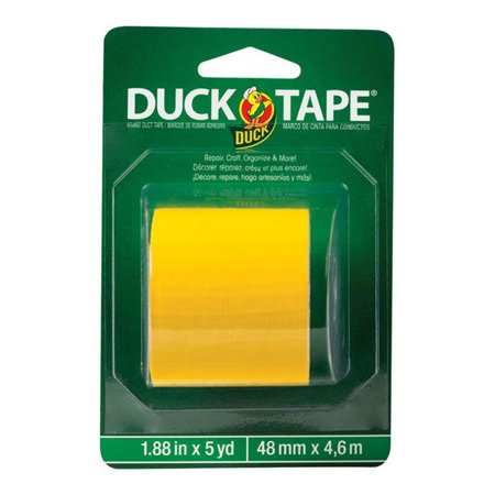Duck Brand 4760401 Tape 1.88 in. x 5 Yard Yellow Solid
