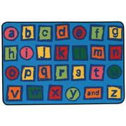 Kids Value Rugs Alphabet Blocks Kids Rug