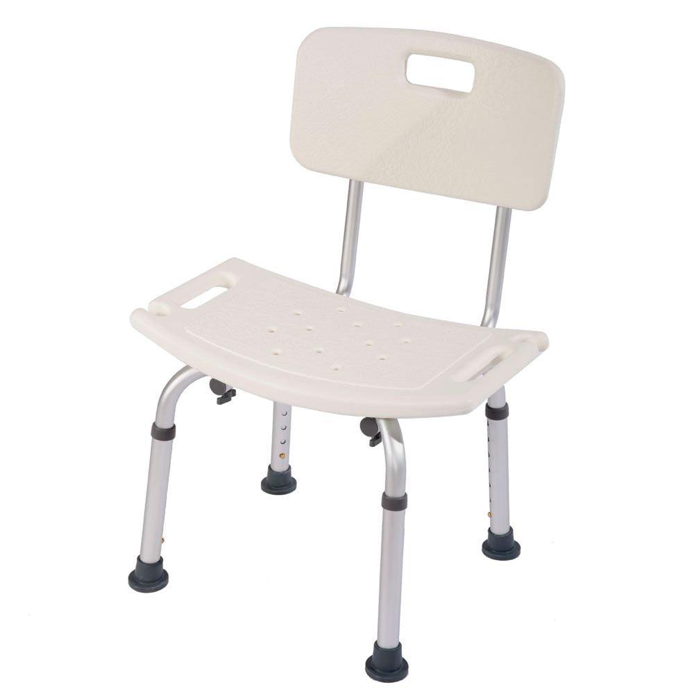 Ktaxon 8 Height Adjustable Medical Shower Bath Chair Detachable ...