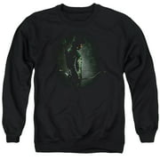 Arrow In The Shadows Mens Crew Neck Sweatshirt