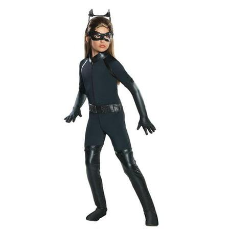 Morris Costume RU881288SM Catwoman Dark Knig Child Costume, Small - Childs Catwoman Costume