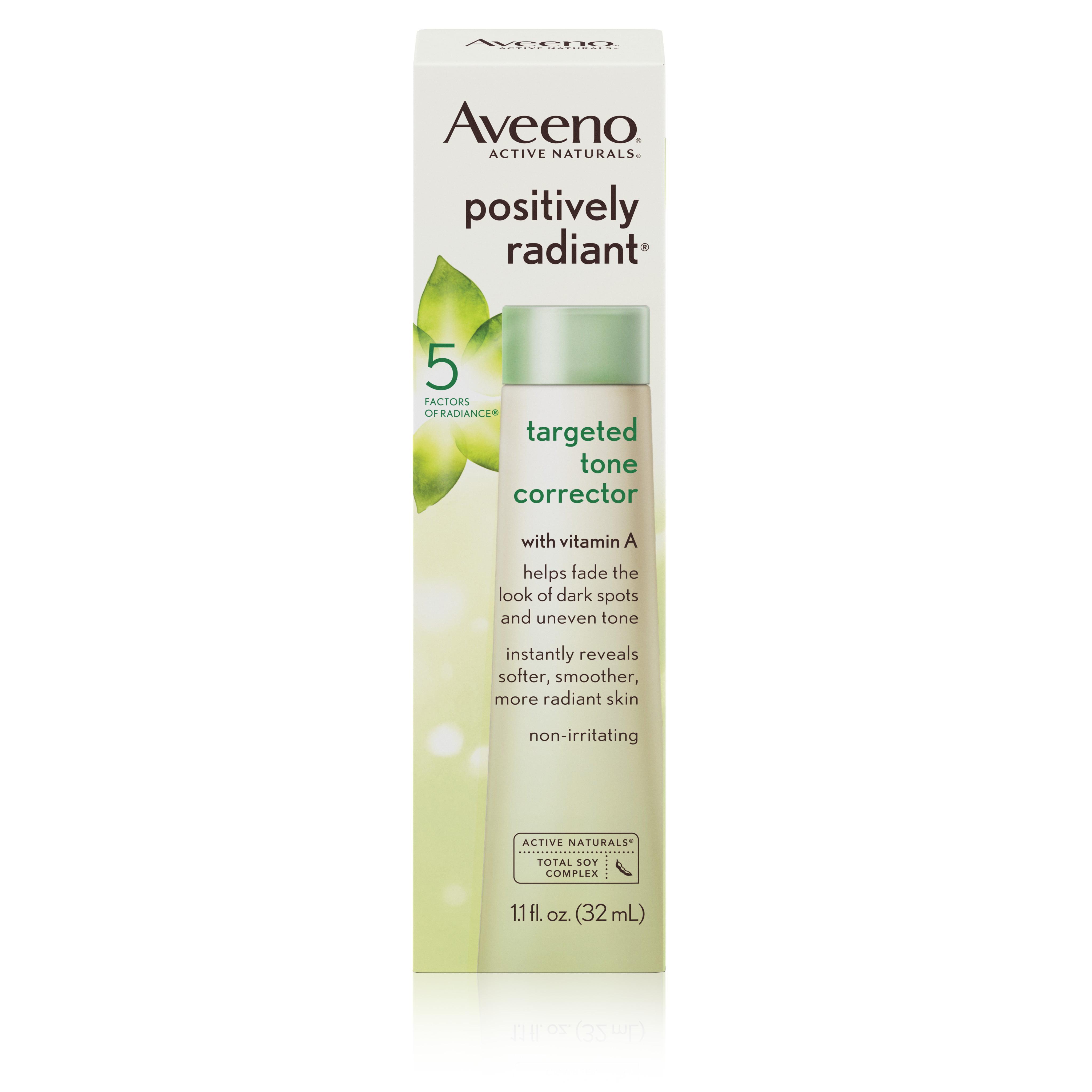Aveeno Positively Radiant Targeted Tone Corrector, 1.1 Fl. Oz - Walmart.com
