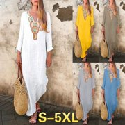 Women's Bohemia Long Dress African Ethnic StylePrinted Maxi Dresses