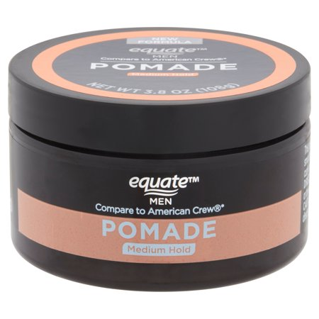 Equate Men Pomade, Medium Hold, 3.8 Oz (Best Medium Hold Pomade)