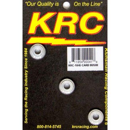 KLUHSMAN RACING PRODUCTS KRC-1045 Throttle Linkage and Components Aluminum Carburetor Bush