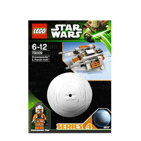 Lego Star Wars 75009 Snowspeeder & Hoth Planet Set New in Box Special Gift Fast Shipping and Ship Worldwide