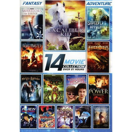 14 Film Fantasy Adventure Collection