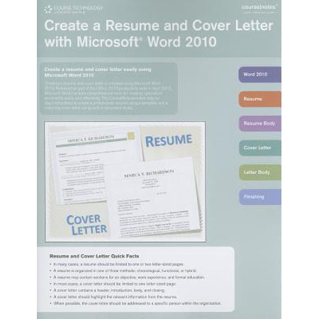 Create a Resume and Cover Letter with Microsoft Word