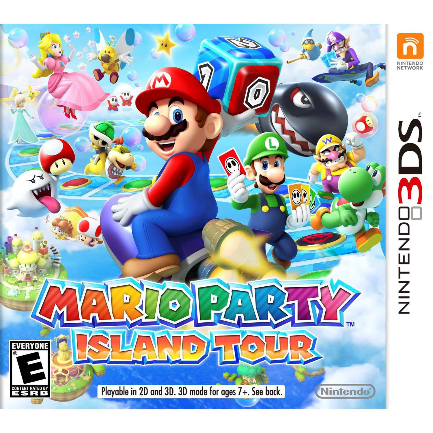 Mario Party: Island Tour (Nintendo 3DS) - Pre-Owned