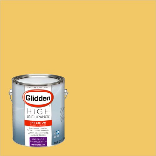 Glidden High Endurance, Interior Paint and Primer, Warm Gold, # 35YY 59/533