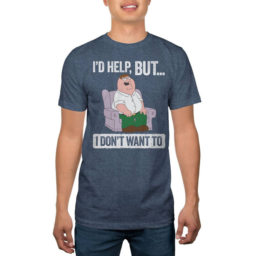 Family Guy I'd Help But Men's Graphic Tee