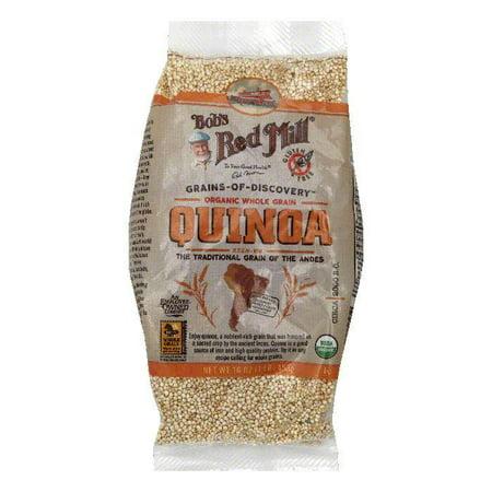 Bobs Red Mill Organic Whole Grain Quinoa  16 Oz  Pack Of 4
