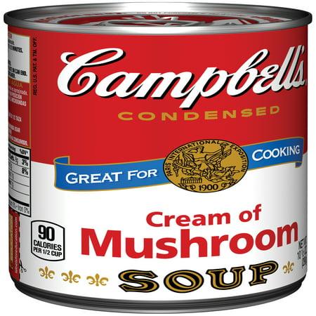 Campbell 39 S Cream Of Mushroom Soup