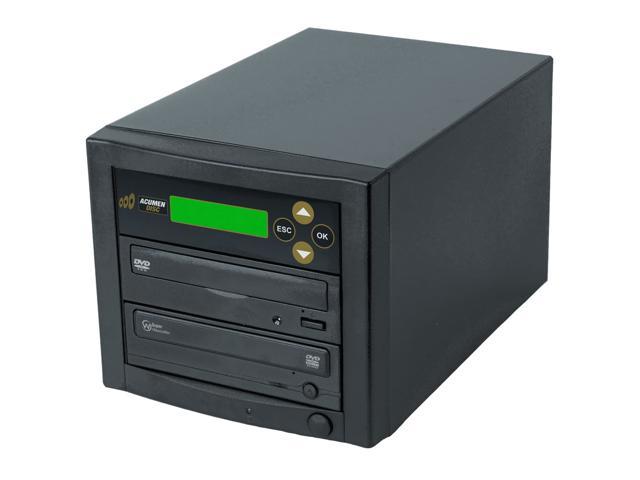 Acumen Disc 1 to 1 Single Target Dual Layer 24X Burner DVD CD Copier Duplicator Machine Unit (Standalone Audio... by Acumen Disc
