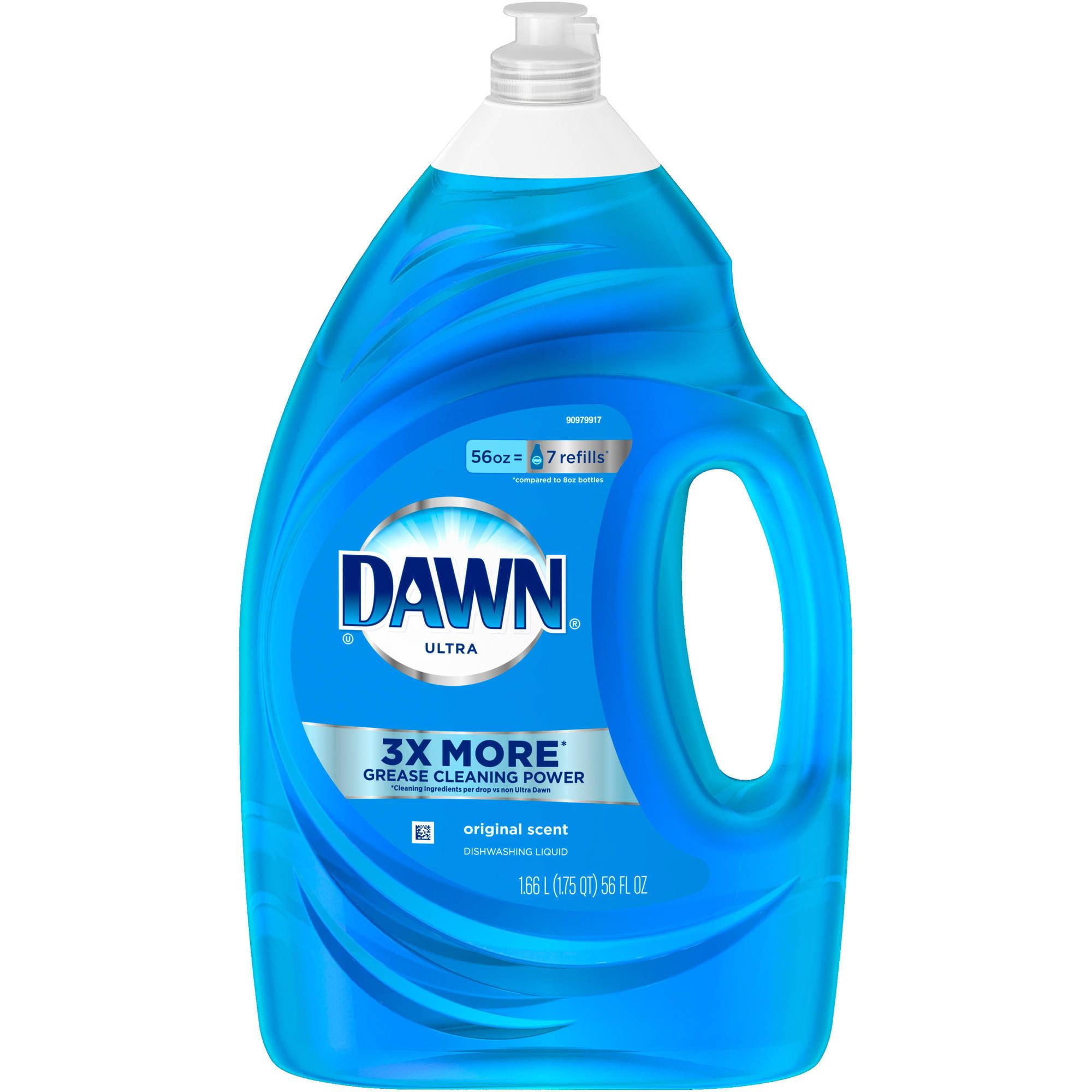 Dawn Ultra Dishwashing Liquid Original Scent (choose your size)