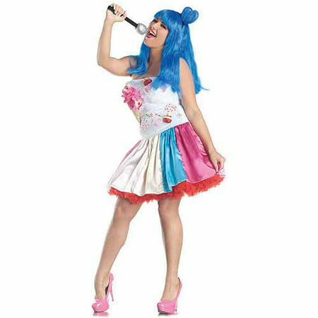 Candy Girl Plus Size Adult Halloween Costume](Plus Size Saloon Girl)
