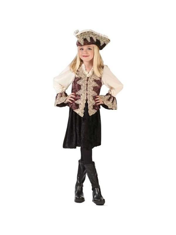 Childs Royal Pirate Lady Costume by Fun World