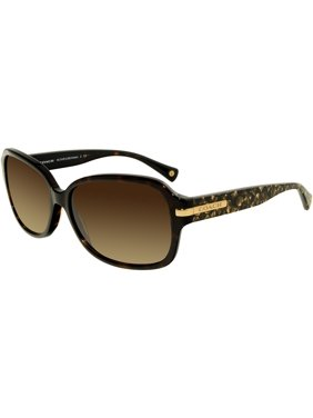 fb2744a535 Product Image Coach Women s Gradient Amber HC8105-522713-58 Brown Square  Sunglasses