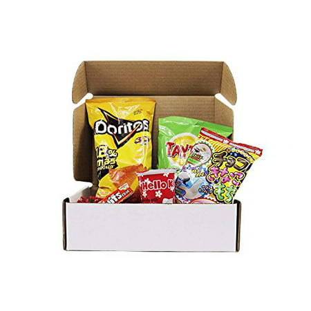 Snack Box from around the world - Care Package (5 (Snack Subscription Box From Around The World)