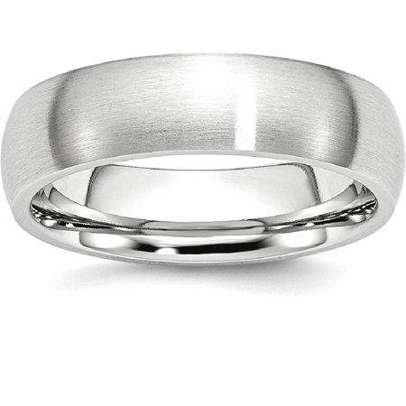 - Cobalt 6mm Wedding Ring Band Size 10.50 Classic Domed Fashion Jewelry For Women Gift Set