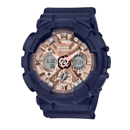 Casio G-Shock S Series GMA-S120MF-2A2 GMAS120MF-2A2 World Time 200M Women's Watch Change Time Casio G-shock Watch