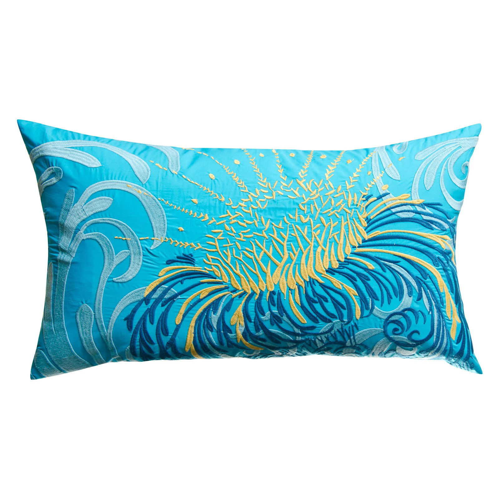 Koko Company 27 in. Water Oblong Pillow
