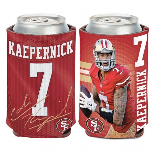 San Francisco 49ers Colin Kaepernick Can Cooler by Wincraft, Inc.