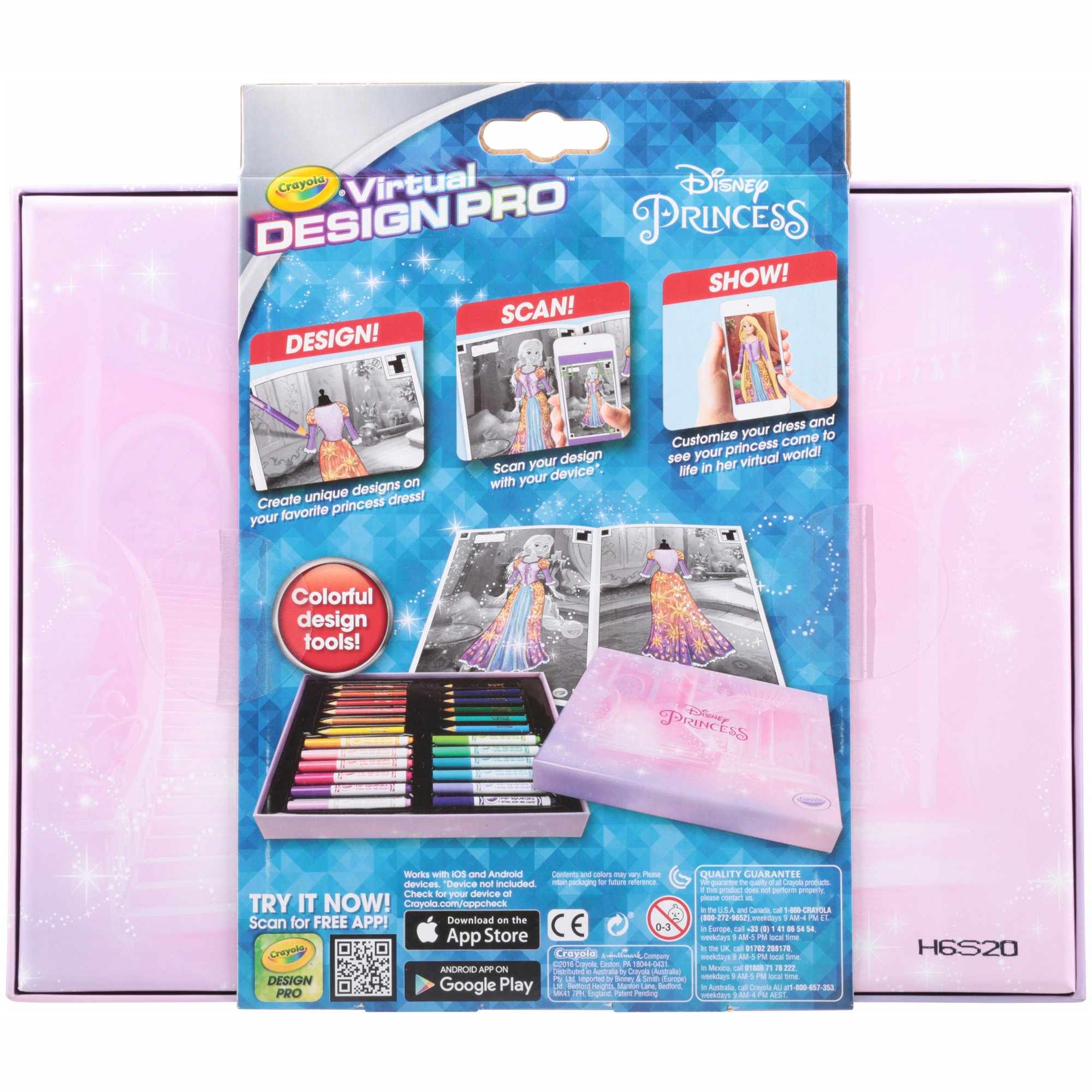 Crayola Disney Princess Virtual Design Pro Walmart Com Walmart Com