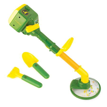 John Deere Lawn and Garden Role Play Set, Includes Weed Trimmer, Trowel and Mini Hand Rake