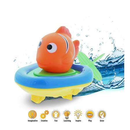 Boat Racer Buddy Pull n Go Float Bath Toy 6