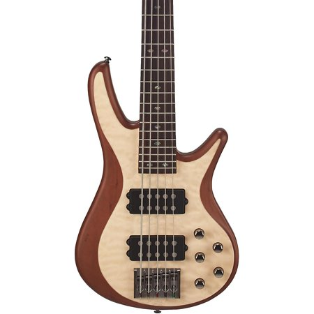 Mitchell Fb705 Fusion Series 5 String Bass Guitar With Active Eq Natural